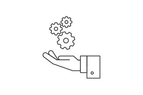 Nested 2 Icon Unterstützung in Marketing und Vertrieb