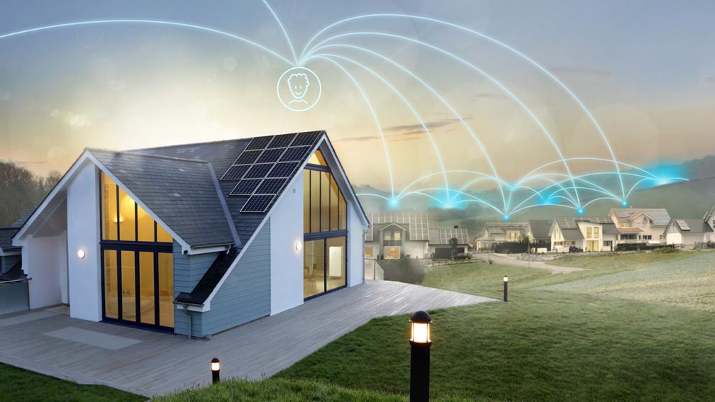 case interconnesse tra loro grazie alla sonnenFlat che condividono l'energia prodotta