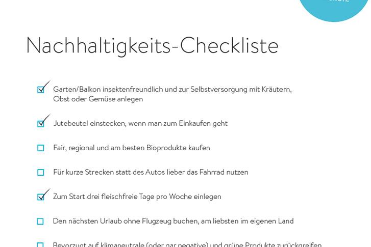 Nachhaltigkeits-Checkliste Download