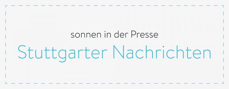 sonnen in der Presse - Stuttgarter Nachrichten