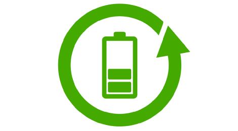 Batterie Icon Nachhaltigkeit
