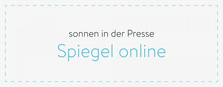 sonnen in der Presse - Spiegel Online