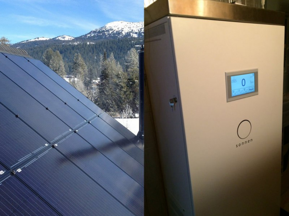 pv system and sonnenBatterie