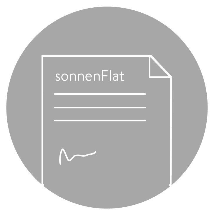 sign up to sonnenFlat