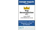 """La rivista Manager e il CleanTech Institute hanno eletto sonnenBatterie """"Top-Stromspeicher 2017"""" tra oltre 300 prodotti"""