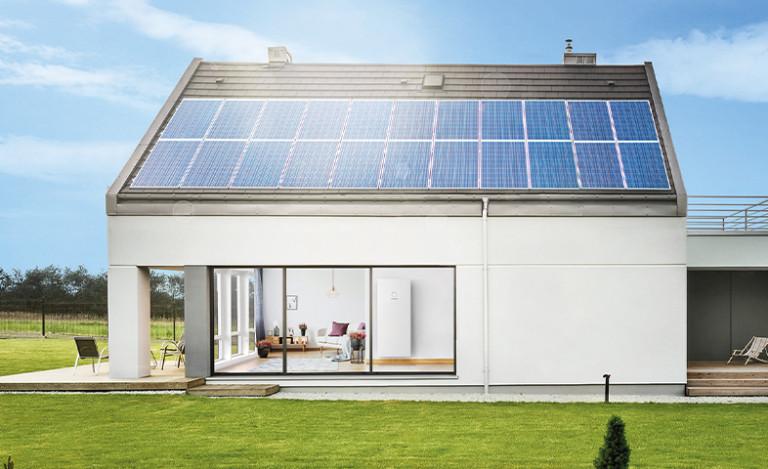 PV-Anlage + Haus