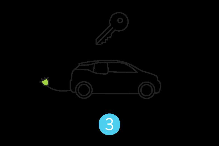Nested 3 E-Auto buchen