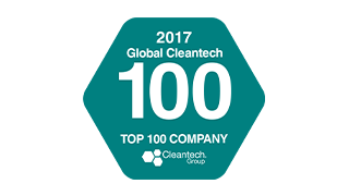 "Nested 4 Global Cleantech 100 ""Continued Excellence Award"" 2017"
