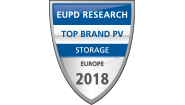 """Die sonnenBatterie wurde in ganz Europa zur """"Top Brand PV Storage"""" in einer Abstimmung von Installateuren gemacht."""