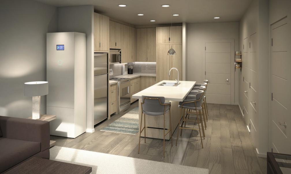 ecoLinx in Soleil Lofts Kitchen