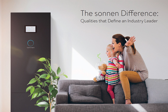 sonnen Difference Brochure cover