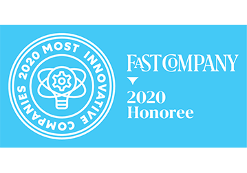 Fast Company 2020 Most Innovative Companies Logo