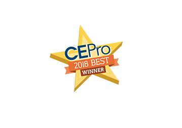 CEPro 2018 Best Winner