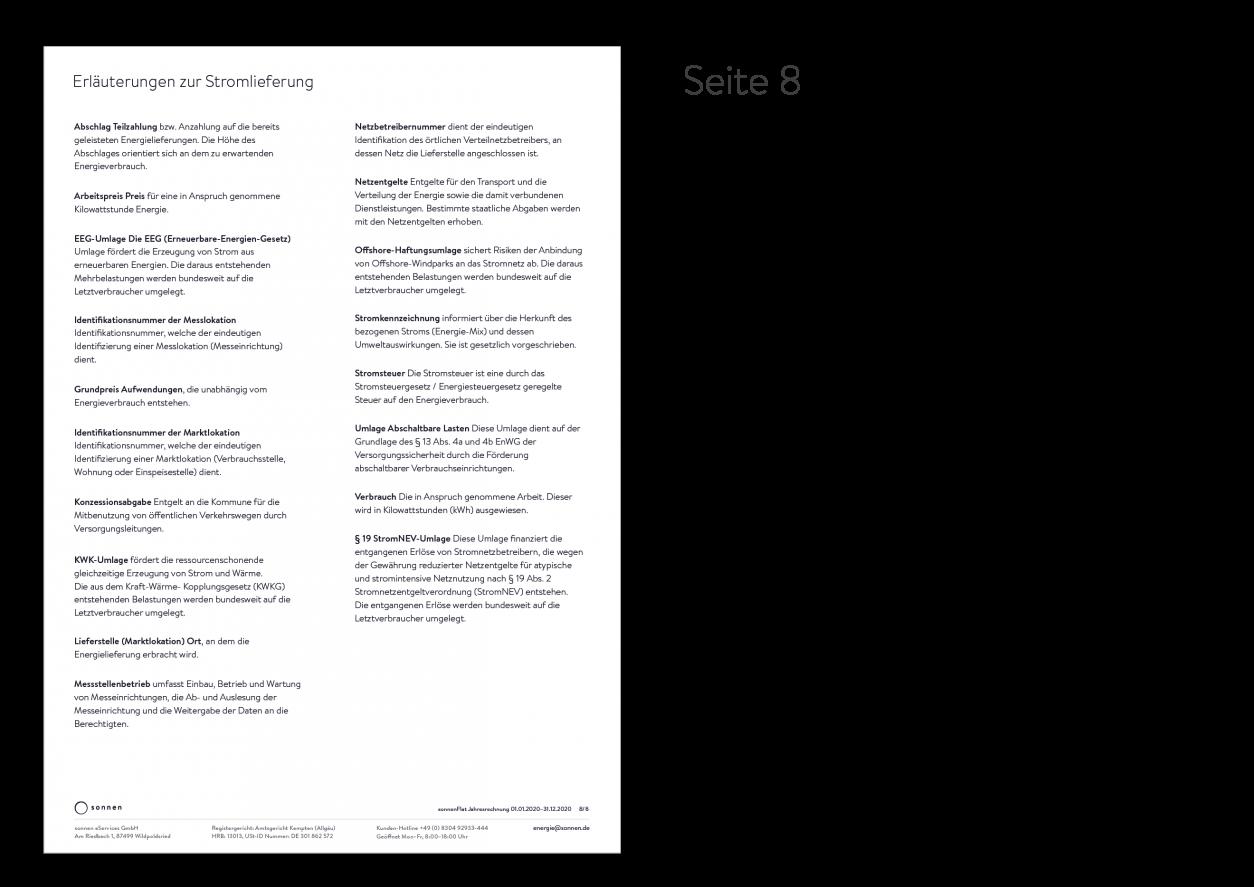 Beispielrechnung sonnenFlat X Seite 8