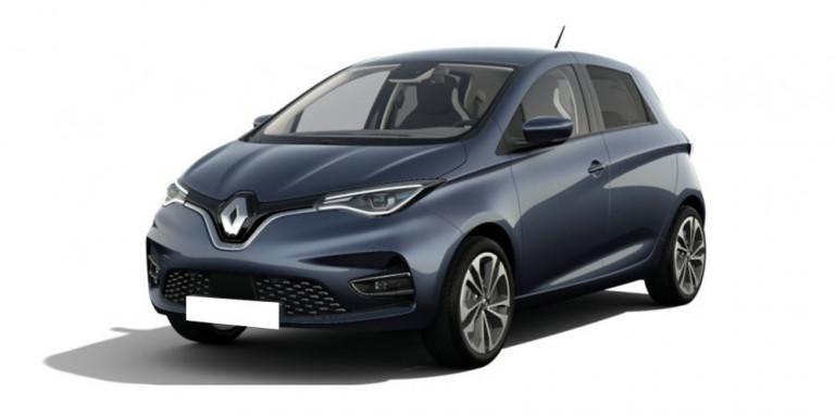 Vorderansicht Renault Zoe Intens