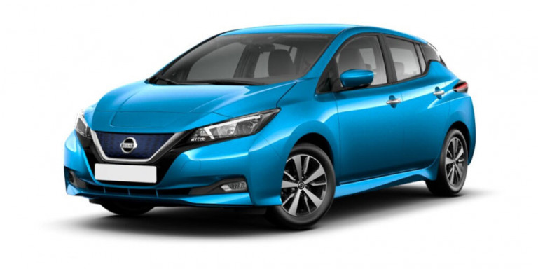 Vorderansicht Nissan Leaf Tekna Option