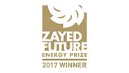 Sonnen, per il suo ruolo pioneristico nel mondo dell'energi, ha ricevuto lo Zayed Future Energy Prize, che è uno dei premi per l'energia più importanti, del valore di $ 1,5 milioni