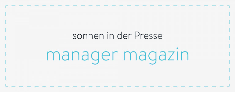 sonnen in der Presse - manager magazin