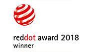 "Red Dot Award ""Product Design 2018"""