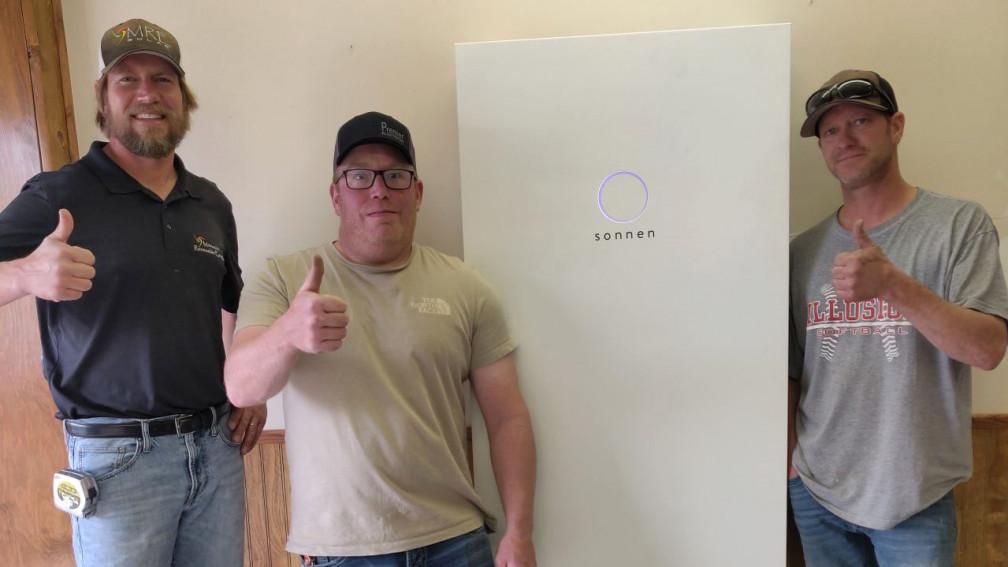Minnesota Renewable with sonnenCore unit