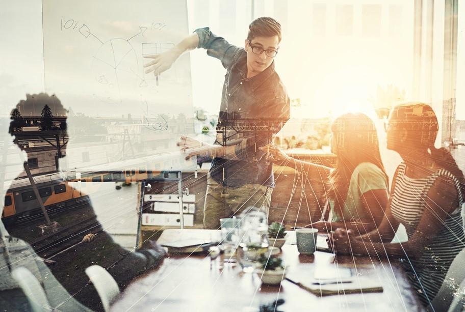 HR Landing Page Imageanzeige Web