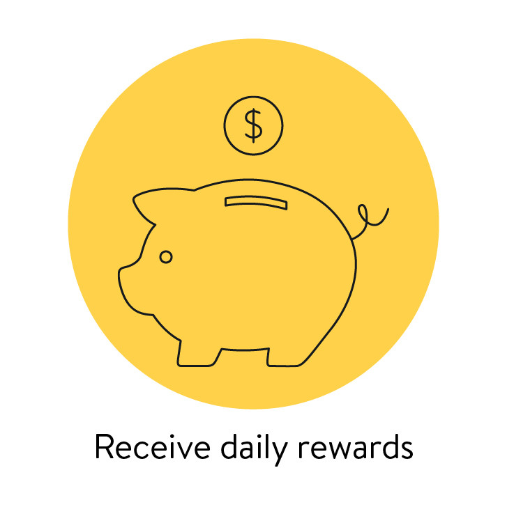 sonnenConnect recieve daily rewards