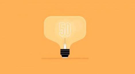gelbe Glühbirne symbolisiert sonnen als smartes Unternehmen entschieden vom MIT