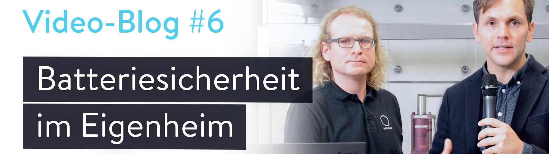 Batteriesicherheit im Eigenheim durch die sonnenbatterie Vlog mit sonnen Geschäftsführer Philipp Schröder