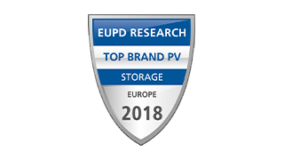 "Nested 4 EuPD Research ""Top Brand PV Speicher"" in Europa 2018"