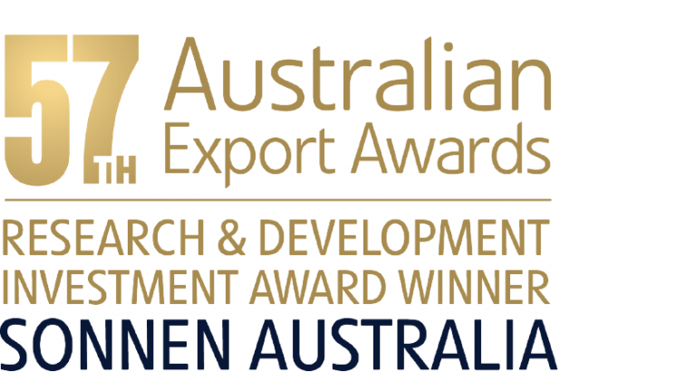 Australian 57th Export Awards- Research and Development Investment Award Winner