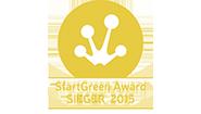 Il premio è sostenuto dal Ministero federale dell'ambiente e onora i fondatori delle aziende più innovative e di successo della Green Economy nel campo della protezione del clima e della sostenibilità