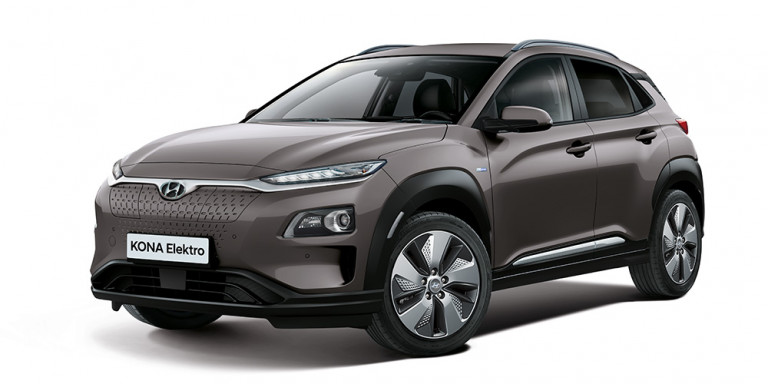 Hyundai eKona Vorderansicht