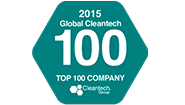 """Global Cleantech 100 """"Company of the Year Europe & Israel"""""""