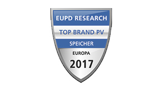 "Nested 4 EuPD Research ""Top Brand PV Speicher"" in Europa 2017"