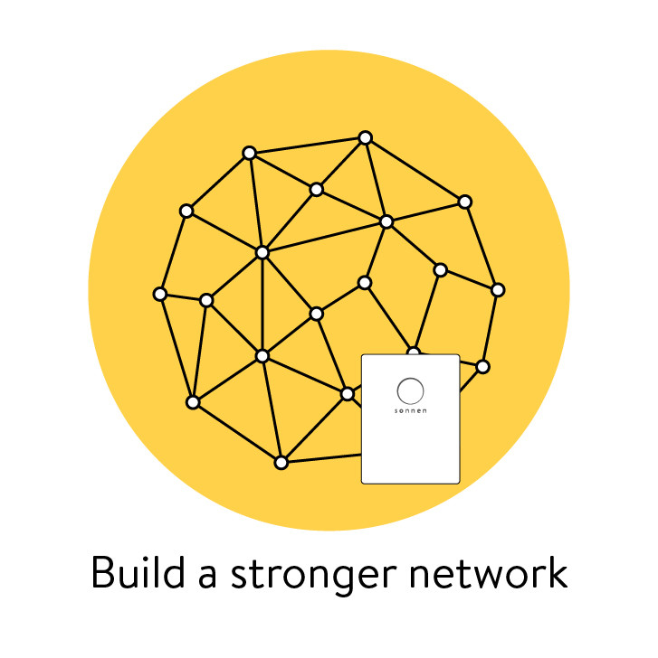 build a more reliable network by joining sonnenConnect