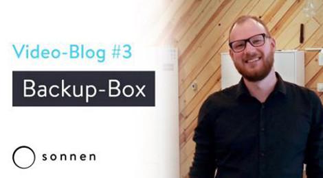 Video Blog Backup Box schützt für Stromausfällen