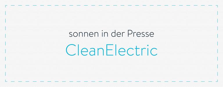 sonnen in der Presse - CleanElectric