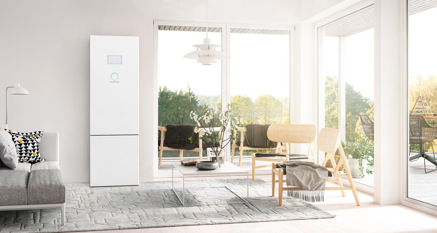 sonnen eco Gen 3.1 installed in living room