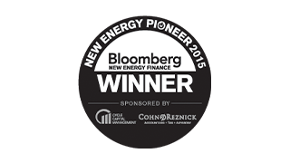Nested 4 awards bloomberg new energy pioneers 2015
