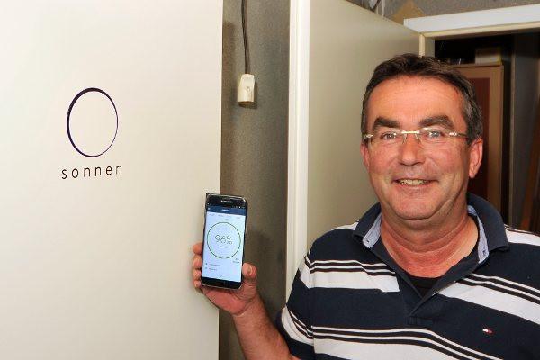 Heimspeicher monitoring mit einer App