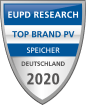Siegel des EUPD Research Top Brand PV Speicher 2020