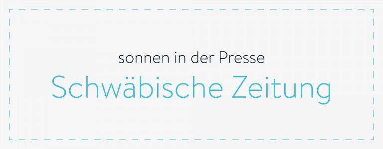 sonnen in der Presse - Schwäbische Zeitung