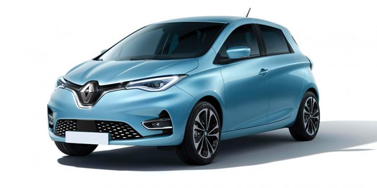 Vorderansicht Renault Zoe Experience