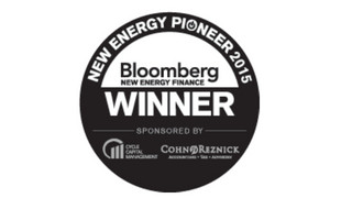 Bloomberg New Energy Pioneers Award sonnen 1