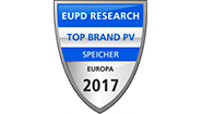 """sonnen ha ricevuto il sigillo """"Top Brand PV Speicher"""" come miglior produttore di sistemi di accumulo in Europa."""