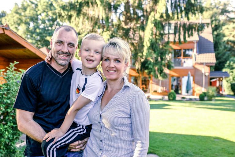Familie Piesker erzählt von Ihren Erfahrungen mit der sonnenBatterie