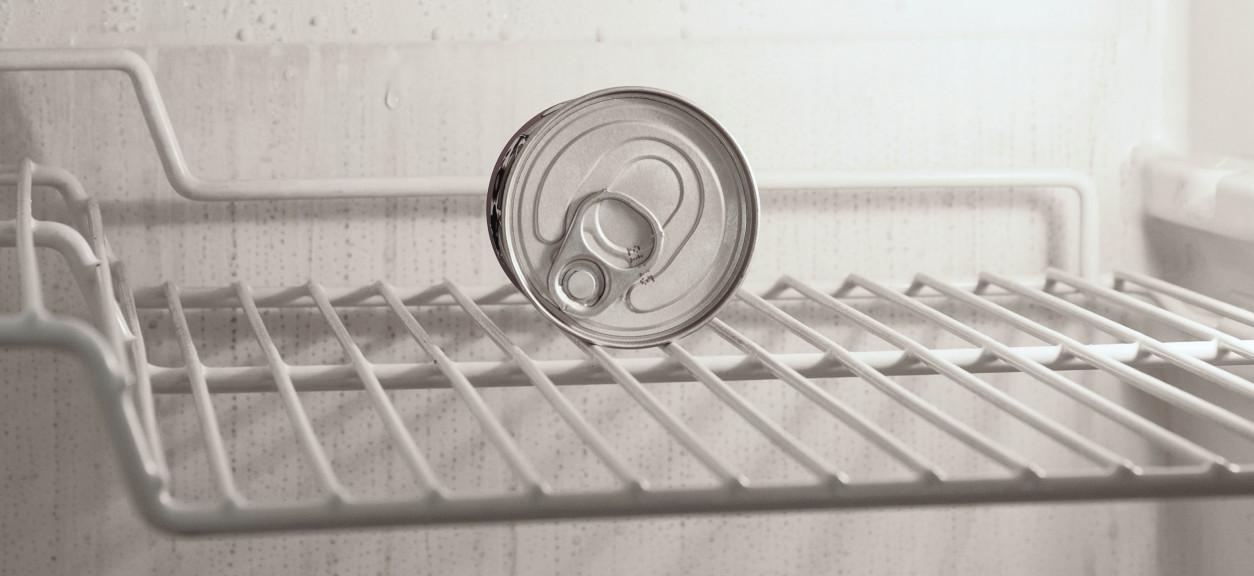 Empty refrigerator; photo courtesy of Enrico Mantegazza on Unsplash