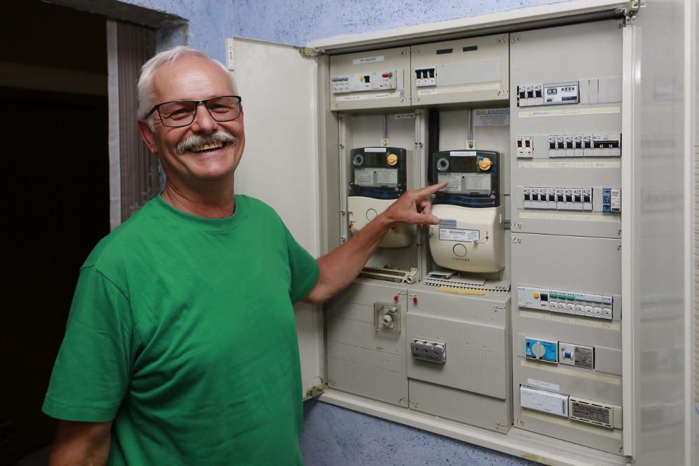 Stromspeicher Zähler Smart Meter