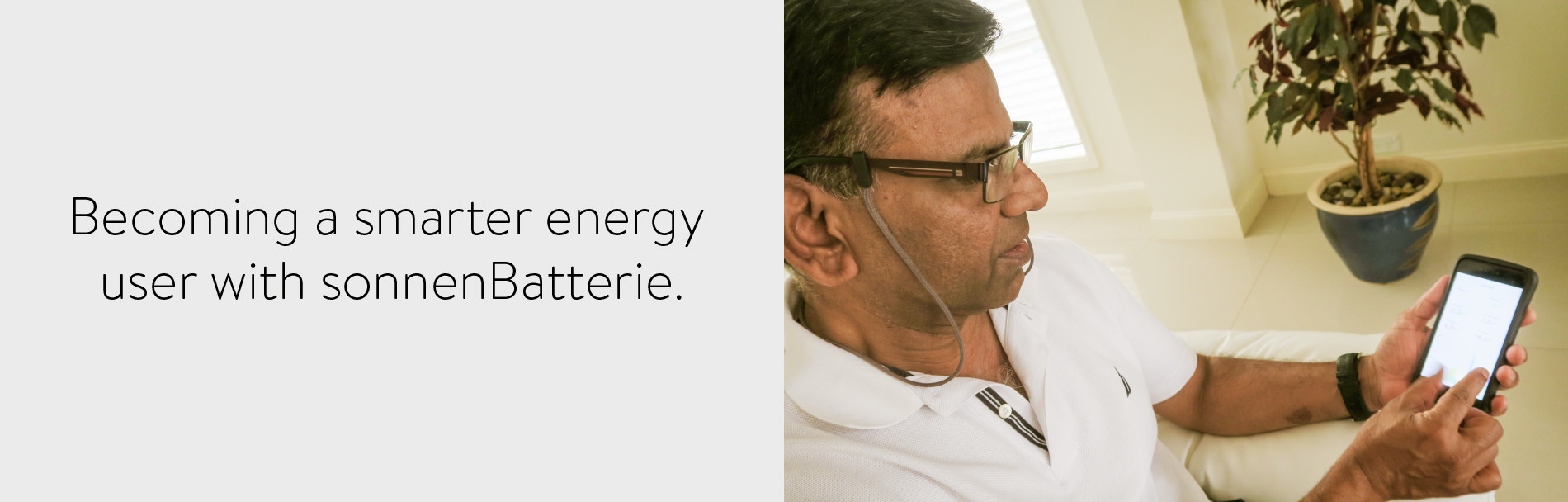 become a smarter energy user with a sonnenBatterie