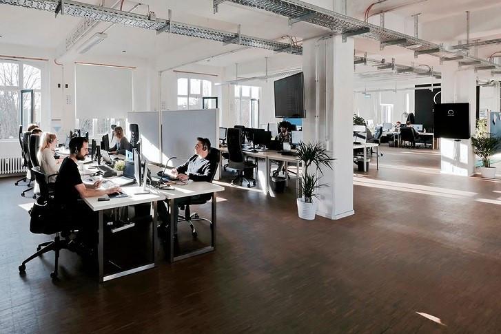 Das sonnen Büro in Berlin